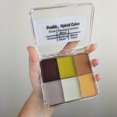 THRILLER Proaiir Solids Water Resistant Makeup Palette - Silly Farm Supplies