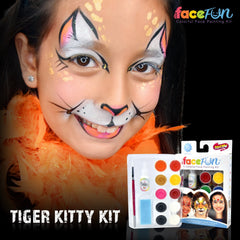 Tiger Kitty Silly Face Fun Character Kit - Silly Farm Supplies