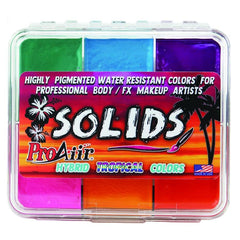 TROPICAL Proaiir Solids Water Resistant Makeup Palette - Silly Farm Supplies