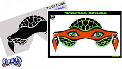 Turtle Dude Stencil Eyes Stencil - Silly Farm Supplies