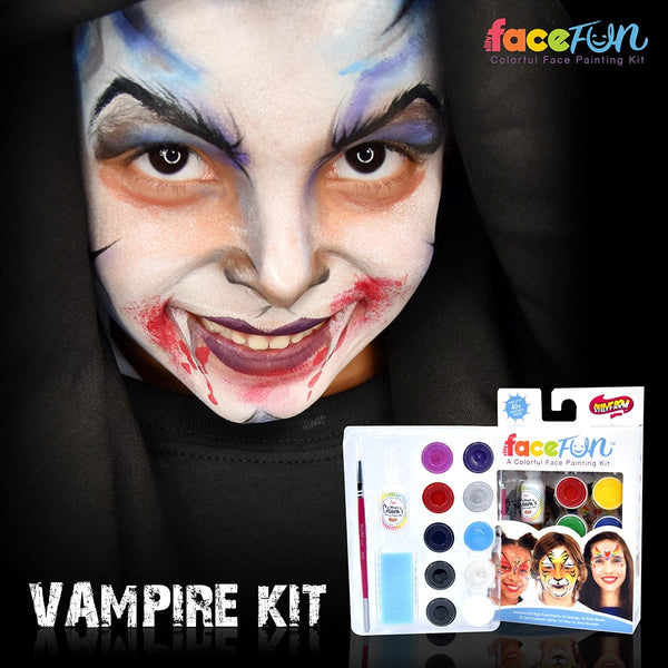 Vampire Silly Face Fun Character Kit