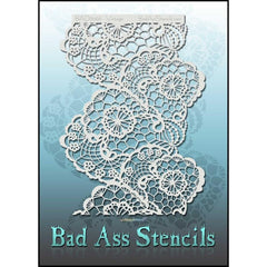 Vintage BAD6066 Bad Ass Stencil - Silly Farm Supplies