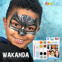 Wakanda Silly Face Fun Rainbow Kit - Silly Farm Supplies