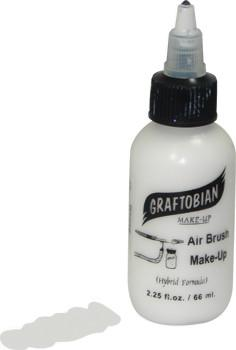 White Graftobian F/X AIRE Airbrush Make Up 2.25oz