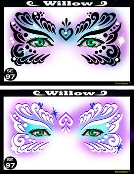Willow Stencil Eyes Stencil