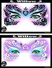 Willow Stencil Eyes Stencil - Silly Farm Supplies