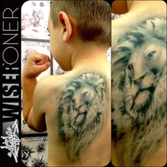 Wiser's Big Cats Tattoo Pro Stencil Series 3 - Silly Farm Supplies