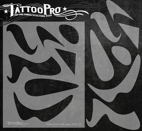 Wiser's Freestyle Tools Tattoo Pro Stencil Series 1