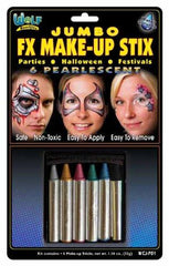 Wolfe FX Make-up Stix Jumbo Pearl 6-Pack - Silly Farm Supplies