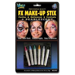 Wolfe FX Make-up Stix Pearl 6-Pack - Silly Farm Supplies