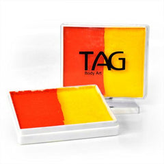 Your-Range TAG Split Cake (orange/yellow) - Silly Farm Supplies