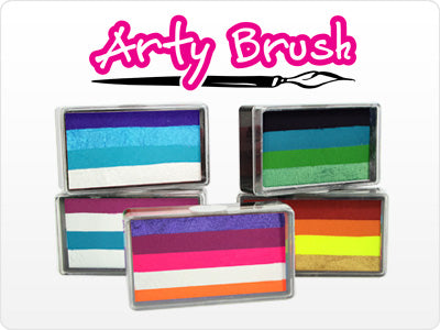 Arty Brush Cakes