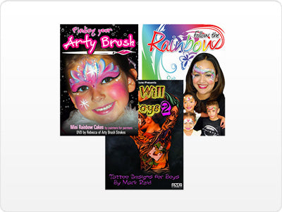 Face Painting DVD's
