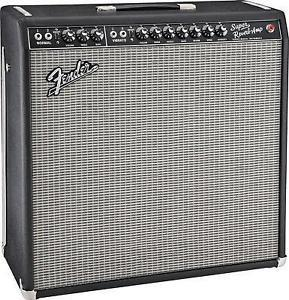Fender Super Reverb Blackface/Silverface (4x10), Combo Cover