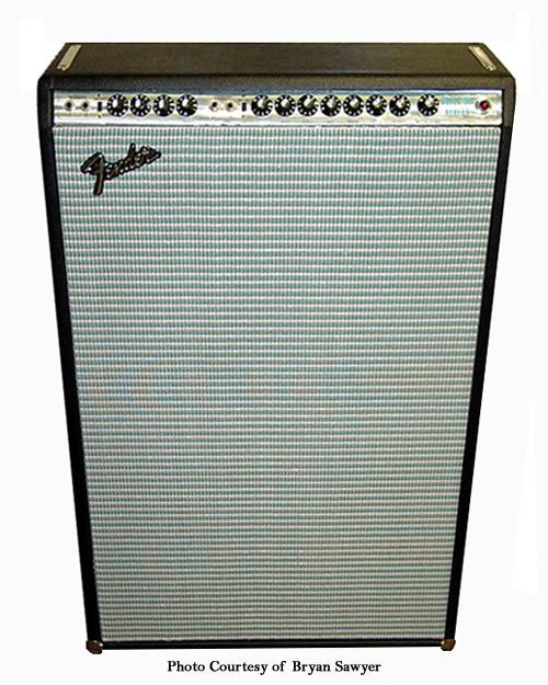 Fender Six Reverb Silverface (6x10), Combo Cover