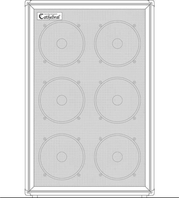 Cathedral Pope (6x12), Cabinet Cover