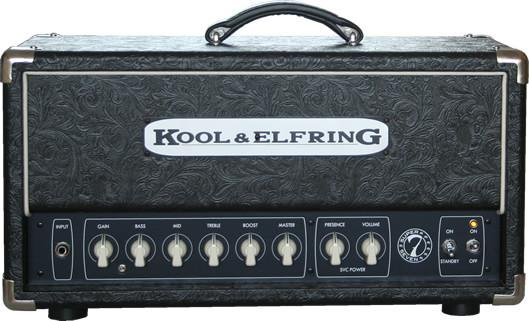 Kool & Elfring Super7, Head Cover