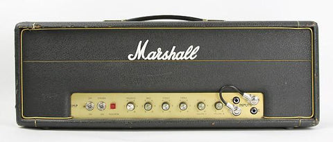Marshall JMP 50 1987, Head Cover