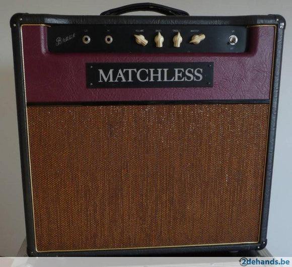 Matchless Brave (1x12), Combo Cover