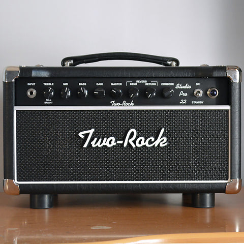 Two Rock Studio 22 Head, Full Protection, Straps, Pro Series