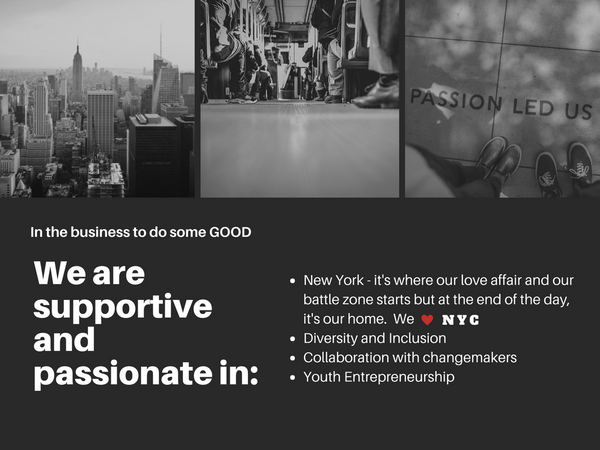 Candlelix in the business to do some good with other social impact changemakers in NYC