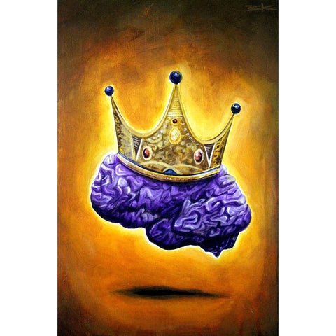 "PURPLE IS FOR ROYALTY (#7) ""ROYAL MIND"""
