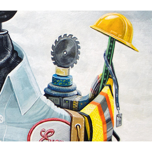 BLUE COLLAR KINGS-Limited edition print-BK The Artist Store