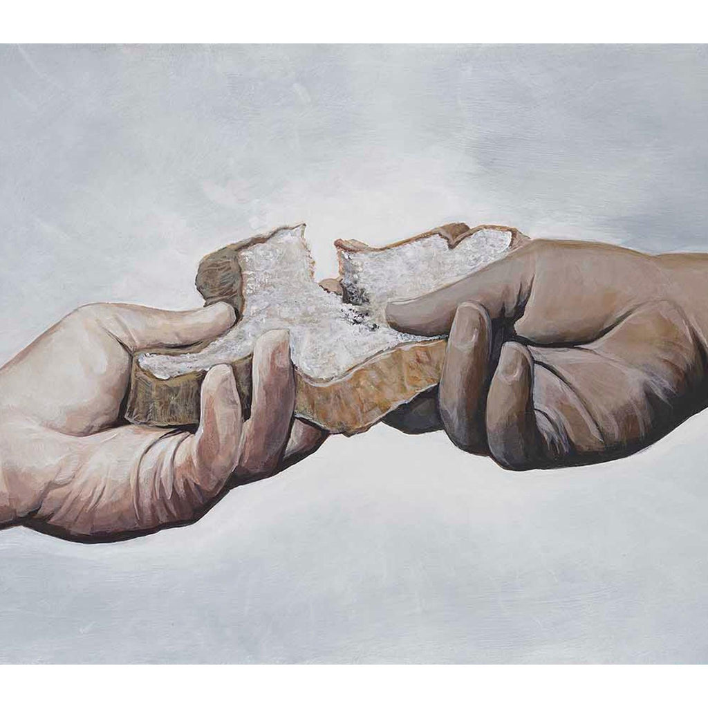 BREAK BREAD-Limited edition print-BK The Artist Store