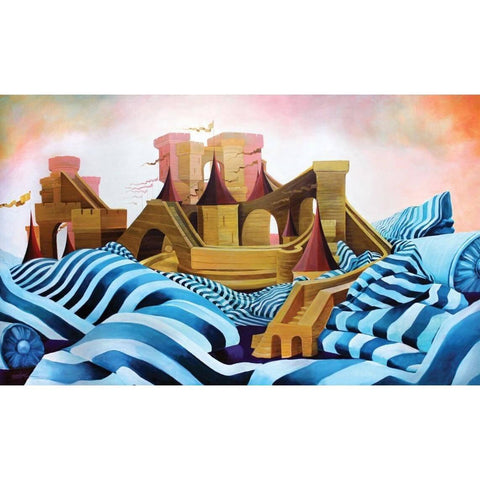 KINGS & QUEENS BUILD CASTLES-Print-BK The Artist Store