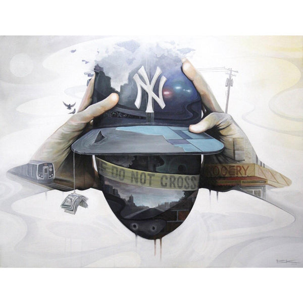 NY STATE OF MIND II-Limited edition print-BK The Artist Store