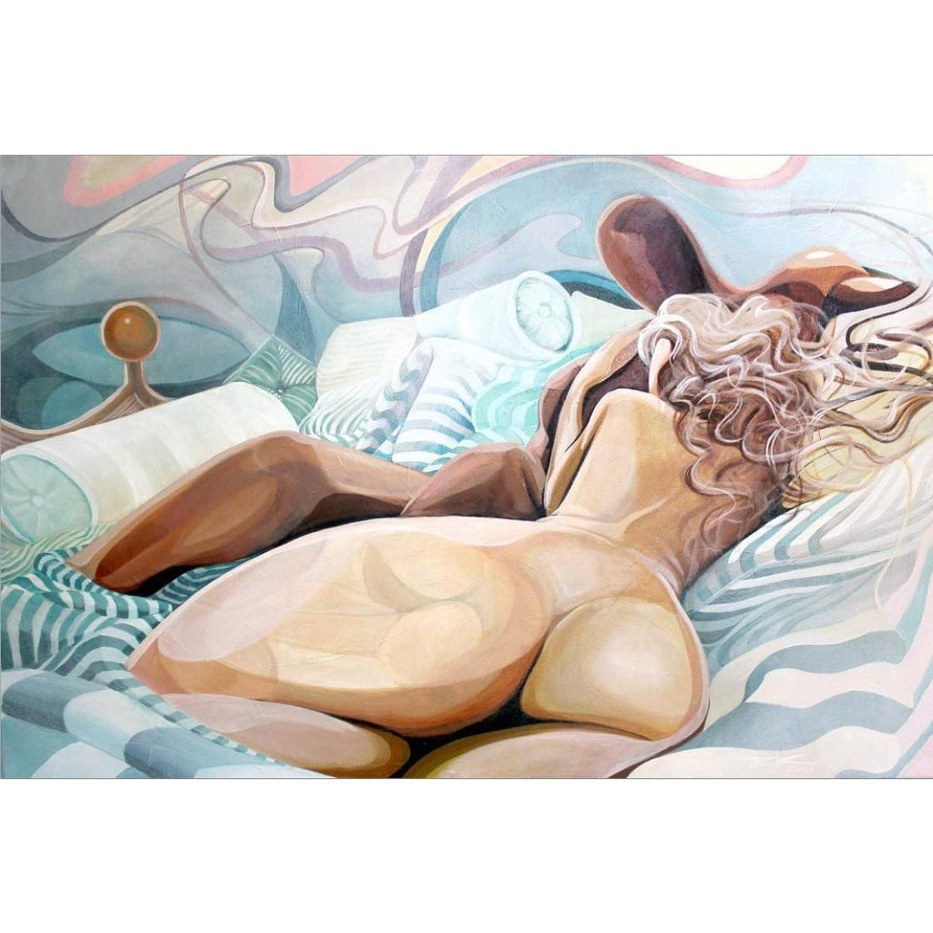 PILLOW TALK (#2)-Print-BK The Artist Store