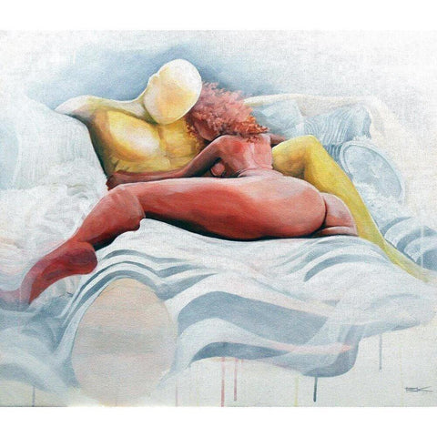PILLOW TALK (#4)-Print-BK The Artist Store