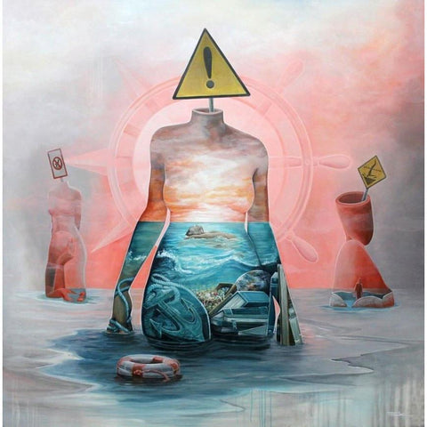 SWIM IN YOUR SUBSTANCE-Limited edition print-BK The Artist Store