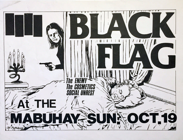 Art of the Flyer: Raymond Pettibon Exhibition