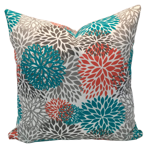 Blooms Pacific Indoor/Outdoor Pillow Cover