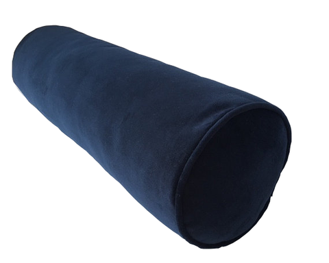 Velvet Bolster Pillow, your choice of colors, insert included