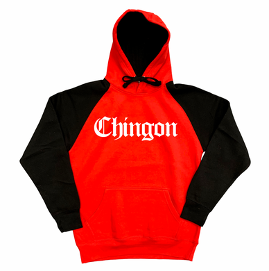 Chingon Red and Black Hoodie