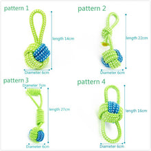 Rope pet Dog Toy Chewers Cotton Knot Ball Grinding
