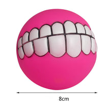 Funny Ball For Dogs - Teeth Silicon Toy