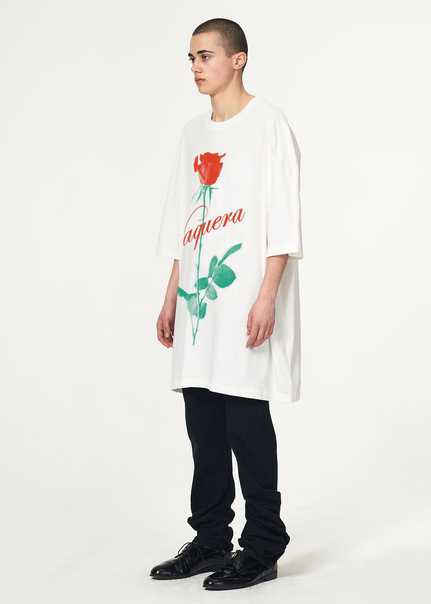 White Rose Tall Tee