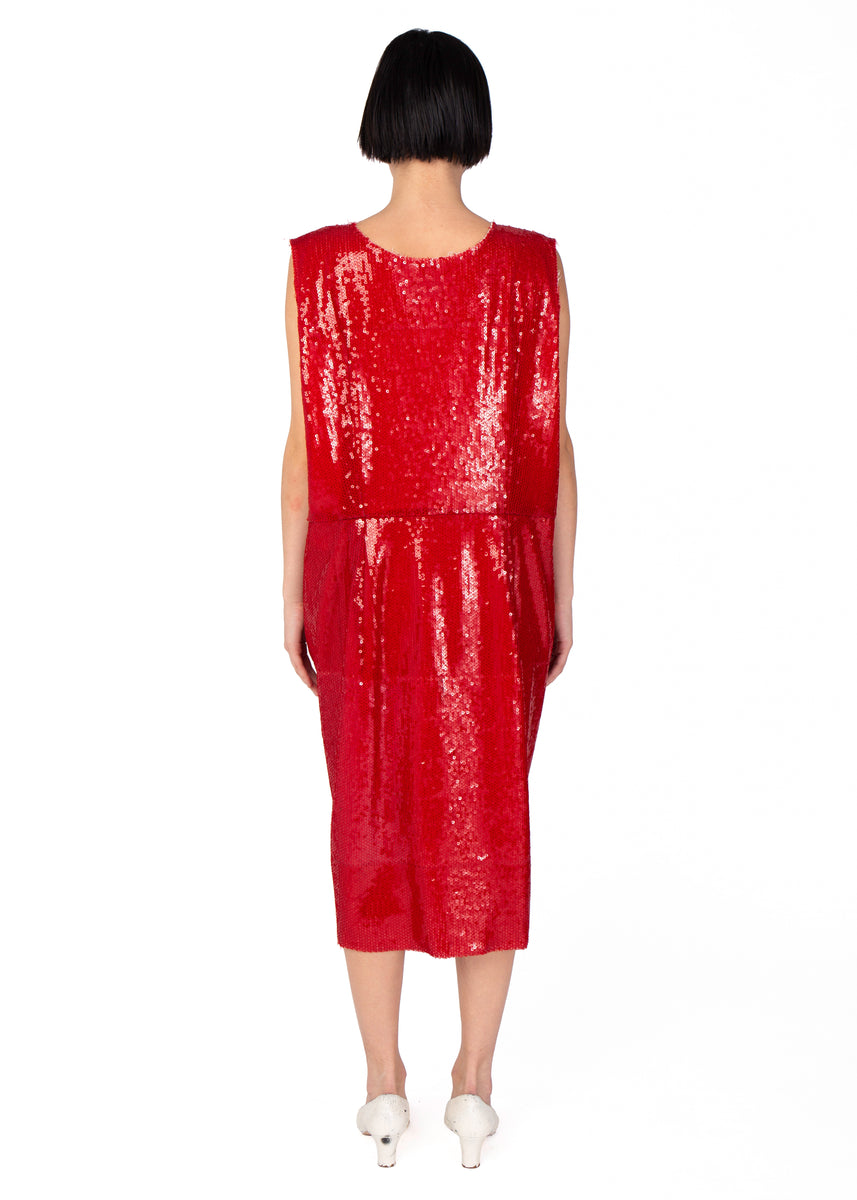 Vaquera Sequin Boxy Dress
