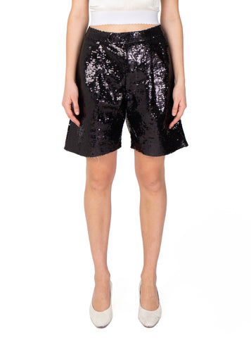 Vaquera Sequin Chopped Shorts