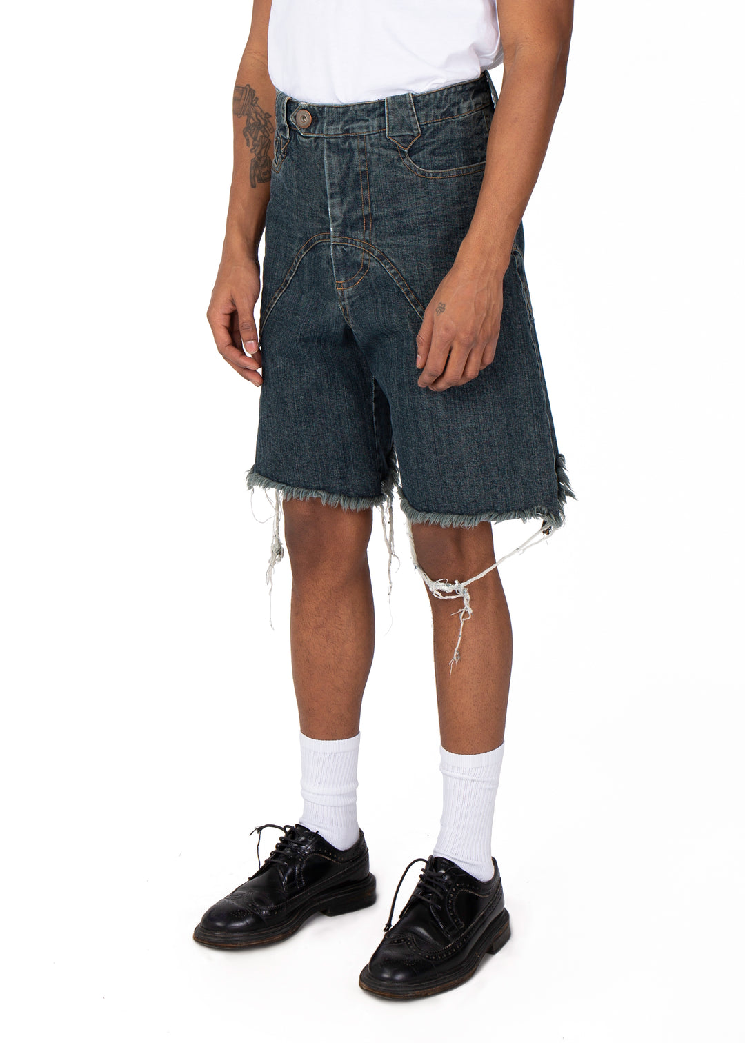 Denim Western Trade Shorts