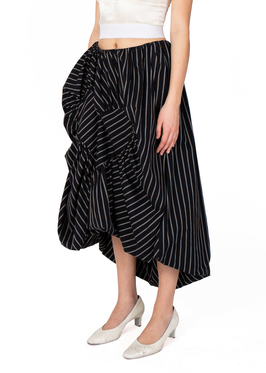 Pinstripe Heart Skirt