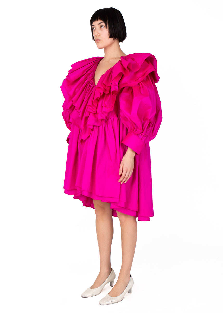 Vaquera Fuchsia Party Dress