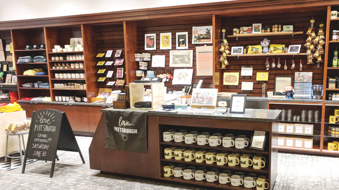 New retail store now open in historic Oliver Building in Pittsburgh from love, Pittsburgh