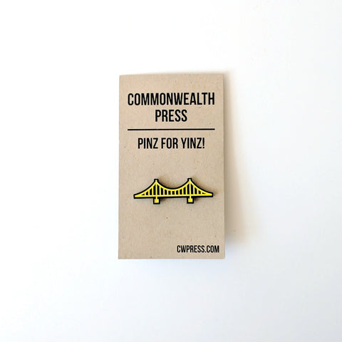 Commonwealth Press Bridge Pin