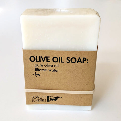 Olive Oil Soap by Lovett Sundries