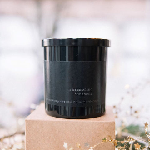 Shimmering Darkness Candle