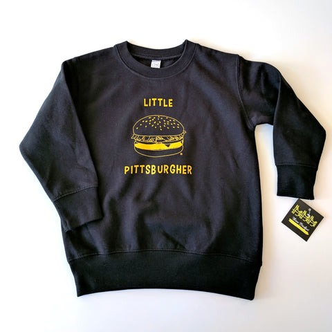 Three Bridges Boutique Little Pittsburgher Sweatshirt